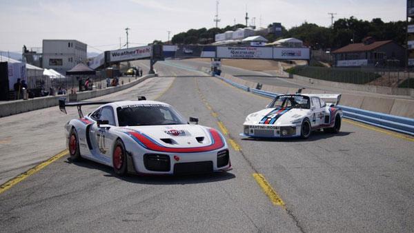 Porsche unveils reborn 935 race auto