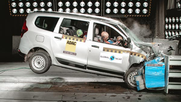 Renault Lodgy Crash Test: Global NCAP Ratings, Results And Video