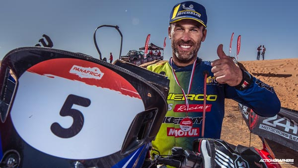PanAfrica Rally Results: Sherco TVS Factory Rally Team's Michael Metge Wins