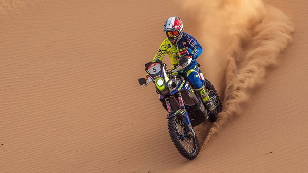 Sherco TVS Factory Rally Team's Michael Metge Wins PanAfrica Rally