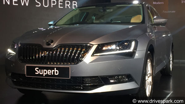 Skoda Superb Sportline Edition Listed On Official India Website; India Launch Soon