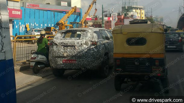 Tata Harrier SUV Spotted Testing In Bangalore Again; To Rival The Hyundai Creta
