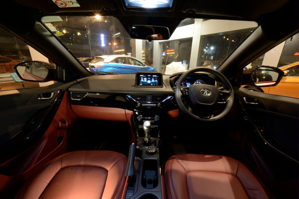 Tata Nexon Rose Gold Edition Showcased At A Dealership In Coimbatore