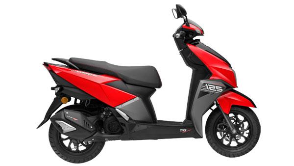 Tvs Ntorq 125 Hits 1 Lakh Sales Milestone New Metallic Red Colour