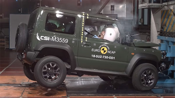 2018 Suzuki Jimny Euro NCAP Crash Test Results Revealed — Gets Three-Star Safety Rating
