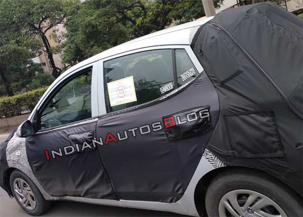 New Gen Hyundai Grand I10 Spotted Testing In India Drivespark News