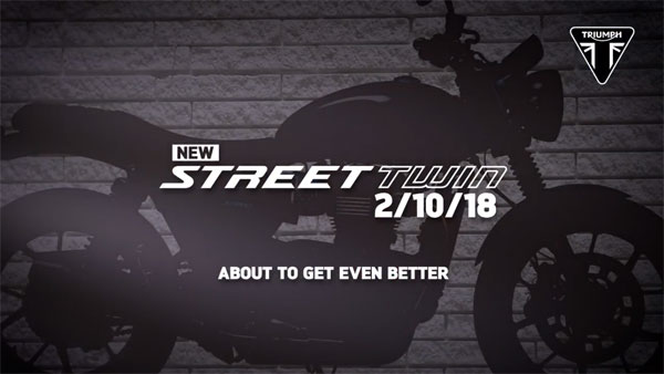 2019 Triumph Street Twin & Street Scrambler Unveil On 2nd October; Intermot Motorcycle Show