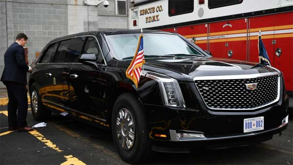 Donald Trump S Cadillac Beast Details Specs Features Images Of