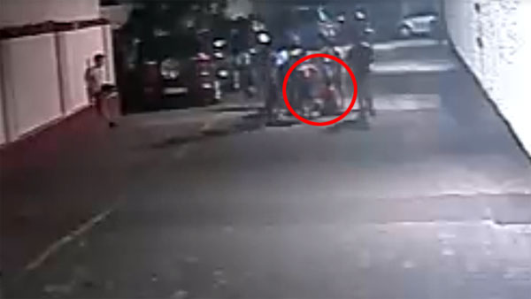 Maruti WagonR Runs Over Boy Who Walks Away From The Incident
