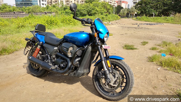 Harley Davidson Street Rod 750 — The Entry Level Sports Cruiser