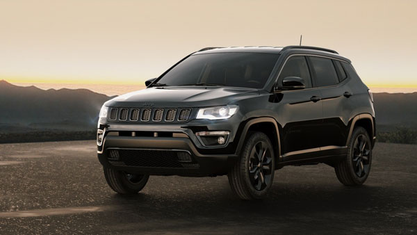 Jeep Compass Black Pack Edition Launched In India At Rs 20.59 Lakh
