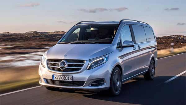 Mercedes Benz Considering The V Class Luxury Van For India