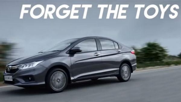 "New Honda City Commercial Mocks Rivals (Maruti Ciaz & Hyundai Verna) Indirectly —  Calls Them ""Toys"""
