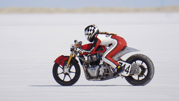 This Royal Enfield Continental GT 650 Aims Big At 2018 Bonneville Speed Week — A New Speed Record