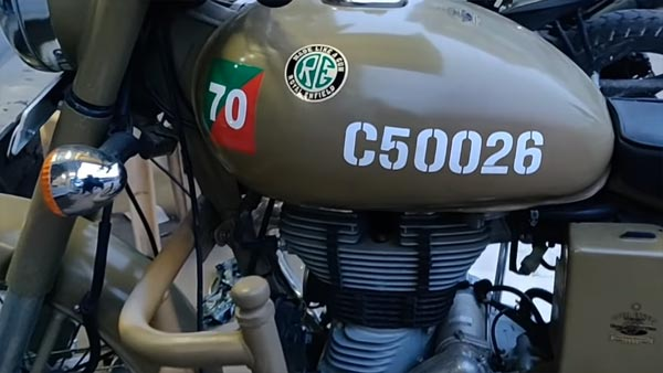 Royal Enfield Pegasus Conversion Out Of A Desert Storm For Just Under Rs 1000!