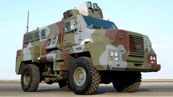 Tata Motors Showcases Two Indigenously Built Defence Vehicles