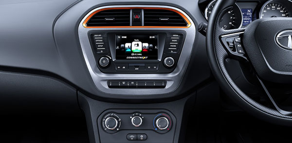 Tata Tiago NRG Top Features: Active Interiors, Touchscreen Infotainment, High Ground Clearance & More