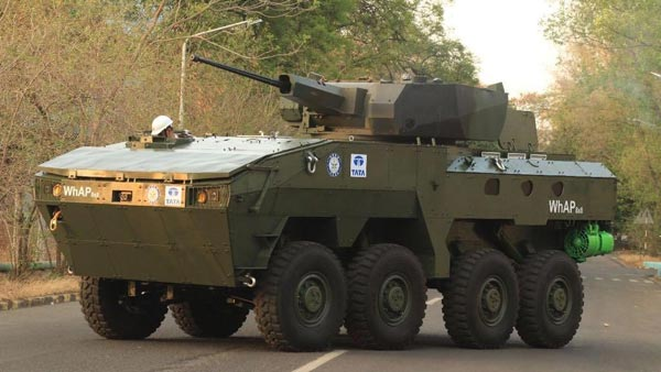 Tata Motors Showcases Two Indigenously Built Defence Vehicles