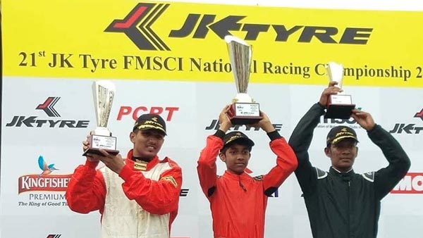 Tijil Rao Secures His First Victory At The JK Tyre FMSCI National Racing Championships