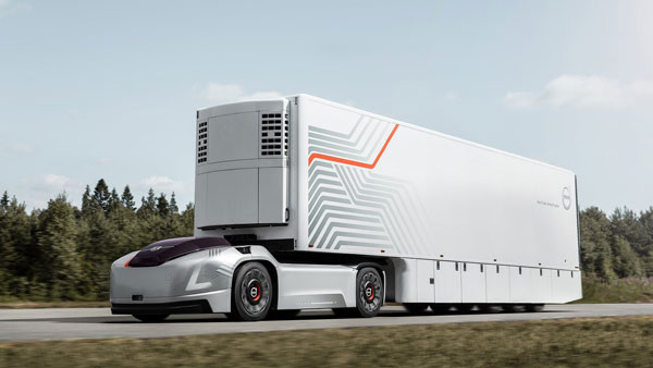 Volvo Vera Self-Driving Electric Truck Revealed