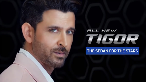 Tata Motors Signs Actor Hrithik Roshan As The Brand Ambassador For The All-New Tigor