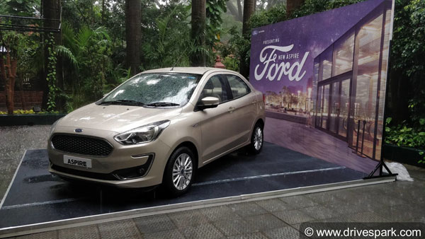 Here's The New Ford Aspire Without Covers