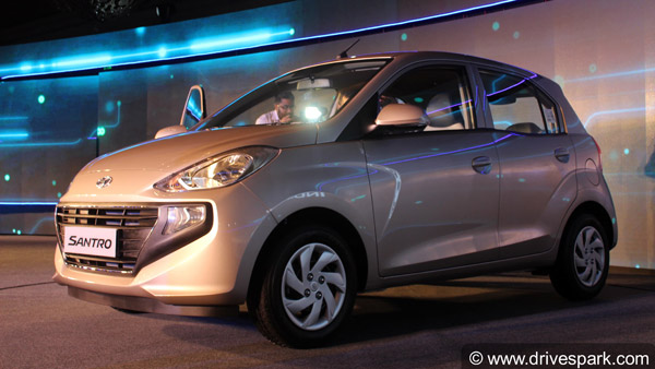 New Hyundai Santro 2018 Launched In India At Rs 3.89 Lakh: Design, Specifications, Features And Images