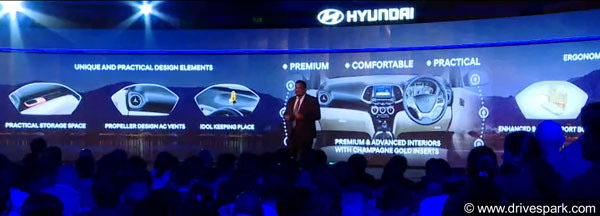 New Hyundai Santro 2018 Interiors