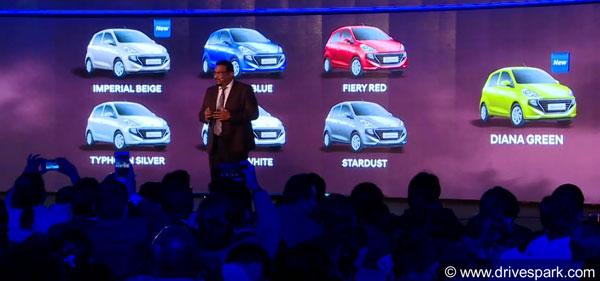 New Hyundai Santro Colour Options