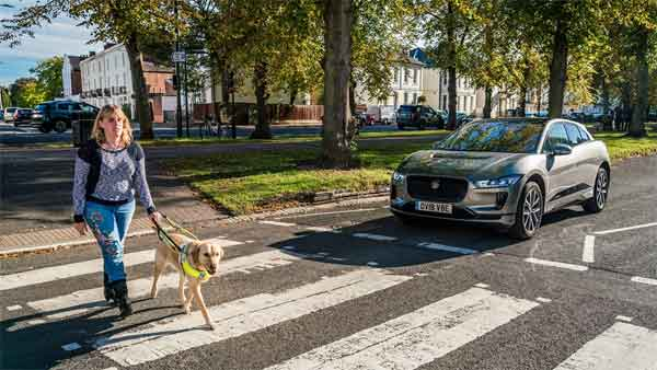 Jaguar I-PACE AVAS Sound Warning System — A Technology To Make Silent EVs Audible To The Blind