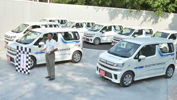 Maruti WagonR Electric Car Testing Begins in India – To Launch By 2020