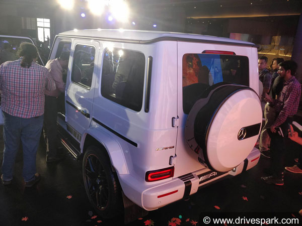 Mercedes-AMG G63 2018 Launched In India; Priced At 2.19 Crore