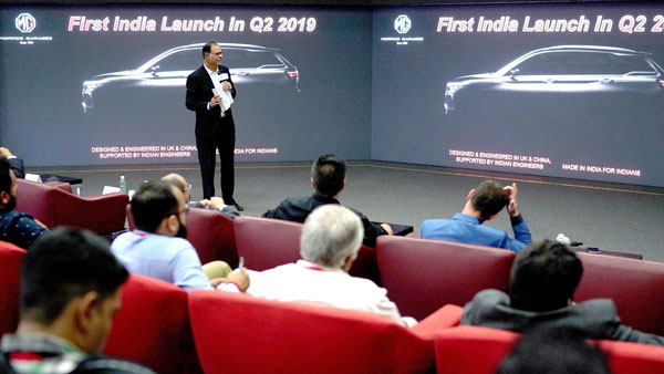 MG Motor To Launch Pure-Electric SUV In India By 2020