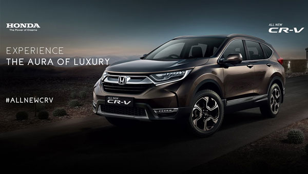 This Is The New Honda CR-V!