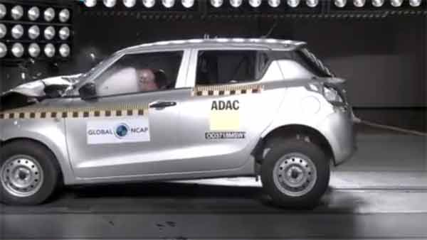 New Maruti Swift Crash Test: Global NCAP Ratings, Results And Video
