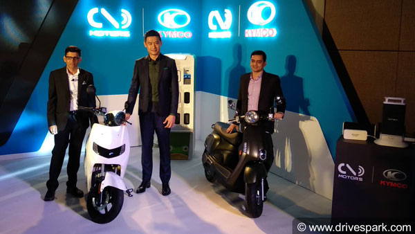 Twenty Two Motors & KYMCO Start New Partnership In India; To Promote Electric Vehicles With Ionex
