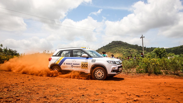 Dakshin Dare 2018: Team Maruti Suzuki Motorsport Take On The South Indian Terrains