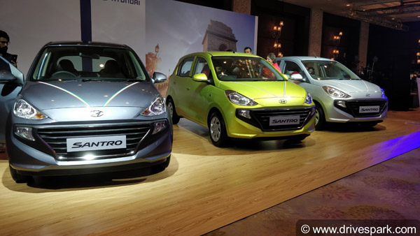 New Hyundai Santro First Look Review