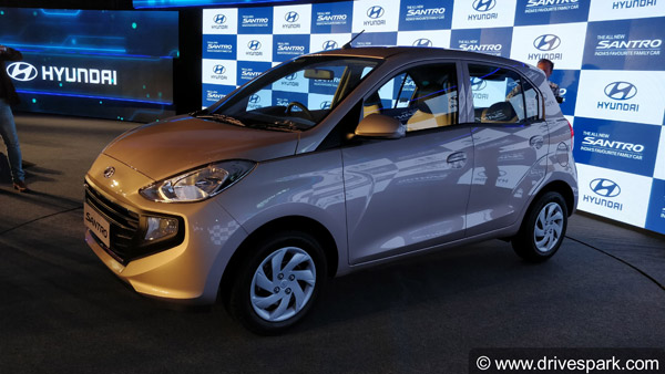 New Hyundai Santro 2018 Launched In India; Prices Start At Rs 3.89 Lakh