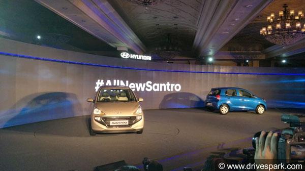 2018 Hyundai Santro Revealed
