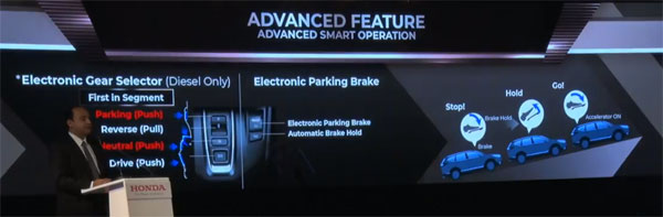 The Driving Modes Are Selected Via Buttons