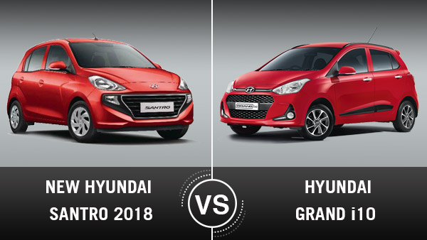 New Hyundai Santro 2018 Vs Grand i10 Comparison: Which Is The Better Choice?