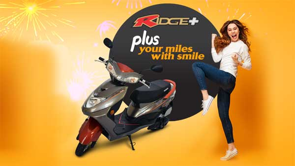 Okinawa Ridge+ Electric Scooter Launched In India At Rs 64,988: Specifications, Features And Images