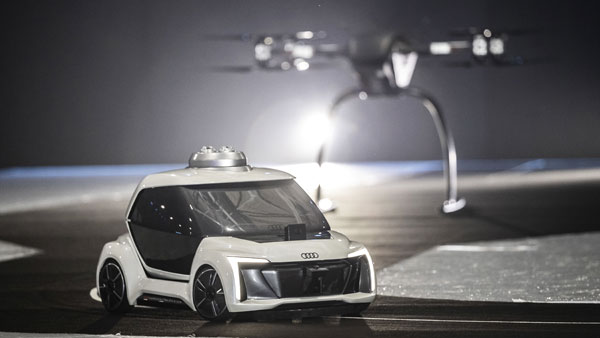 Audi Flying Taxi: An Autonomous Concept Partnered With Airbus & Italdesign