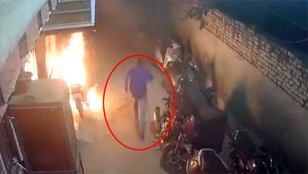 Drunk Man Burns 18 Vehicles In Delhi — Diwali Gone Wrong; Watch The Video