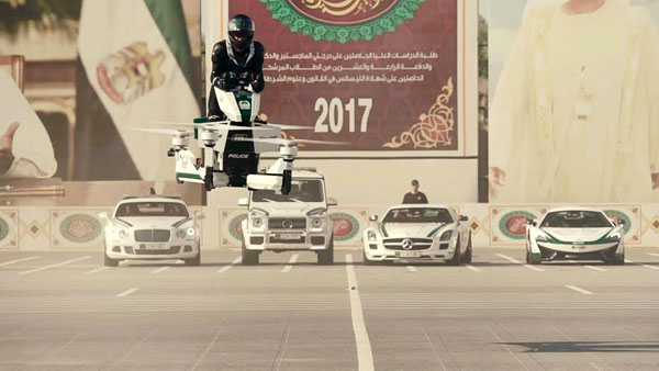 Dubai Police Flying Bikes Aka The Hoversurf S3 2019 To Be In Operation Soon