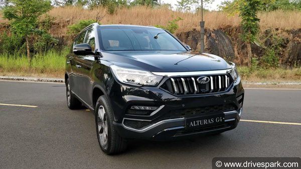 Mahindra Alturas G4 Review: Test Drive Report (First Drive ...