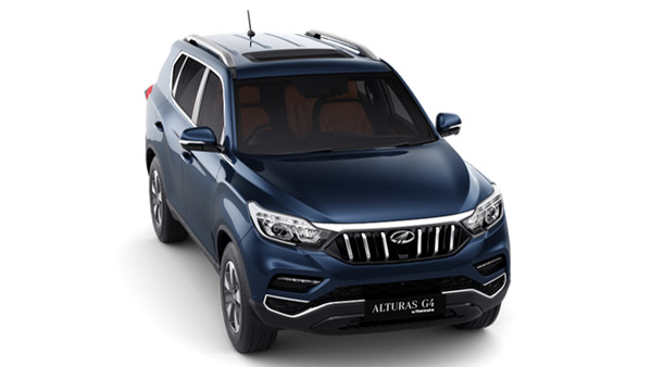 Mahindra Alturas G4 Booking Details — Booking Amount Stands At Rs 50,000