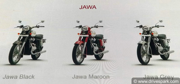 The Jawa Is Available In Three Colours