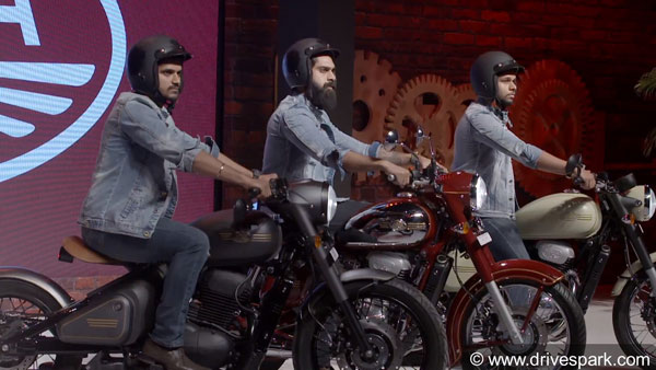 New Jawa, Jawa 42, Perak Motorcycles India-Launch Highlights; Prices Start At Rs 1.55 Lakh